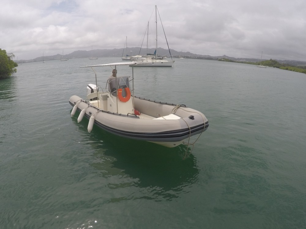 Hire RIB with or without skipper Capelli Le Robert
