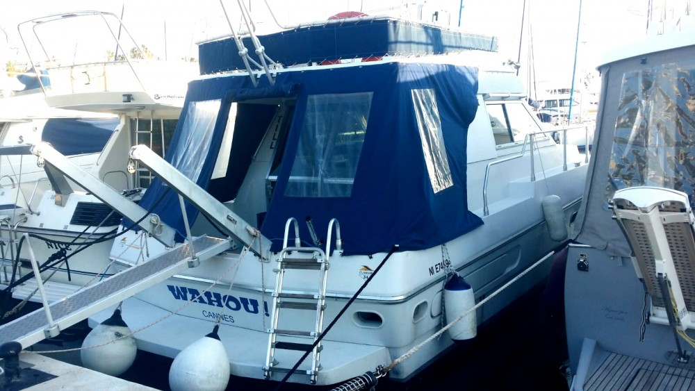 Ferretti Altura 36 between personal and professional Cannes