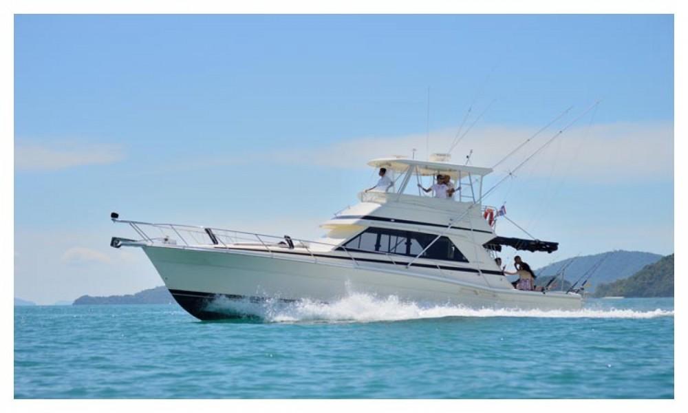Boat rental Phuket cheap Riviera 41 flybridge