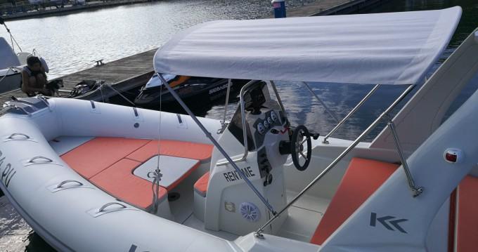 Boat rental Pula cheap Kardis Fox 570