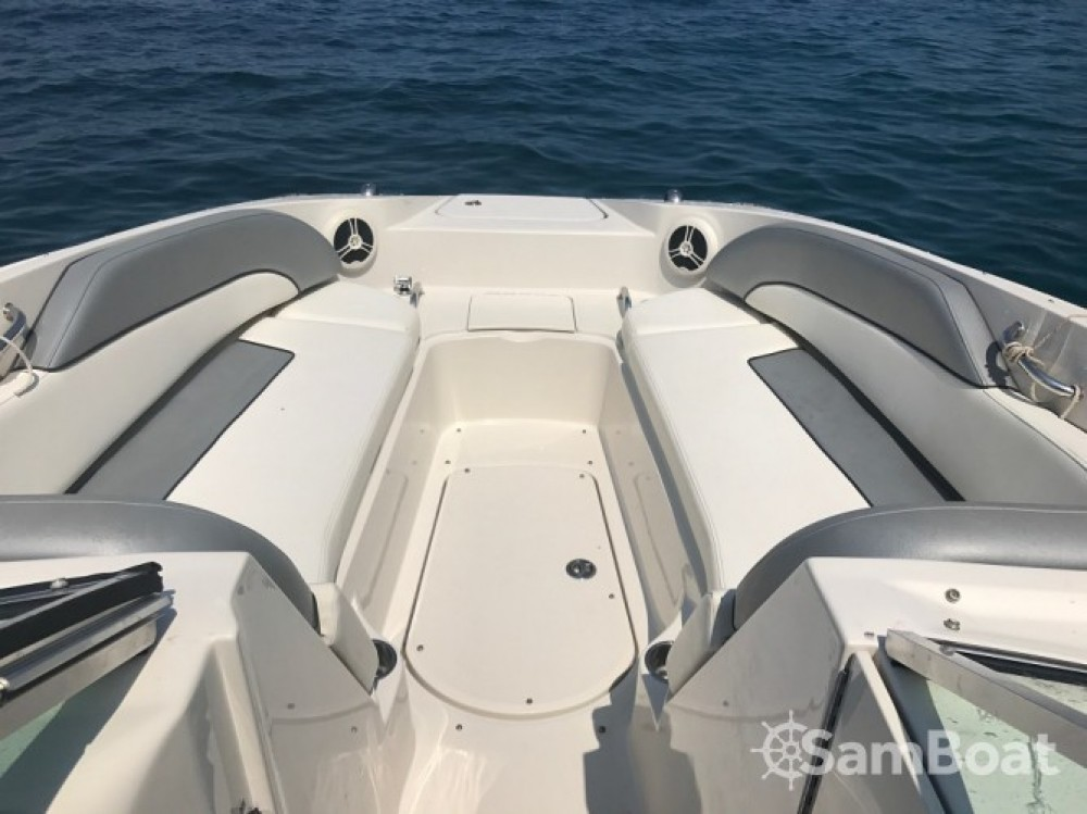 Boat rental Vallauris cheap Sea Ray 260 Sundeck