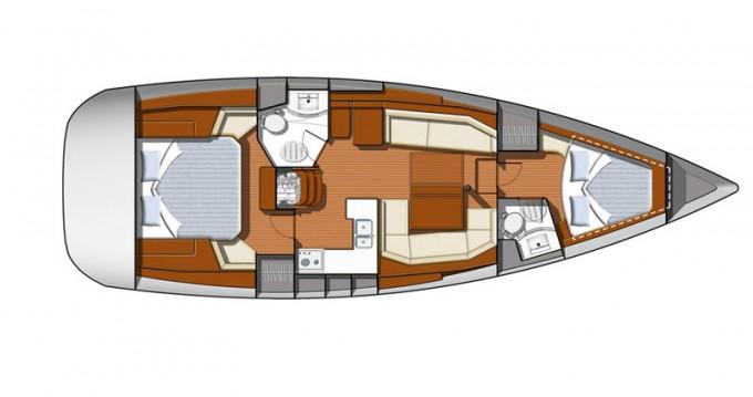 Boat rental Alimos cheap Sun Odyssey 42DS