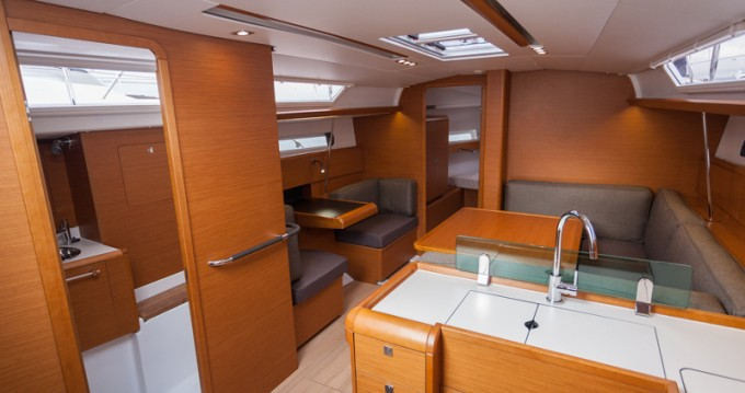 Boat rental Rhodes cheap Sun Odyssey 419