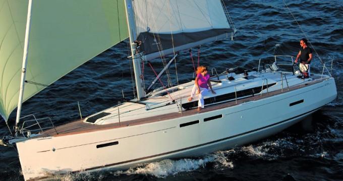 Rental Sailboat in Rhodes - Jeanneau Sun Odyssey 419