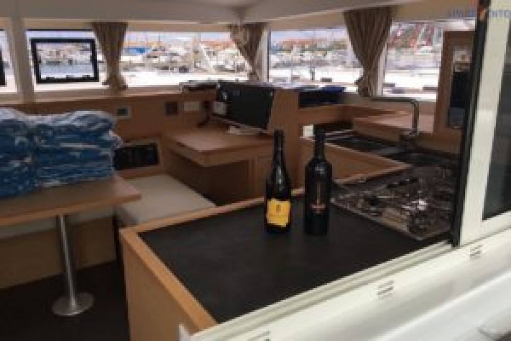 Hire Catamaran with or without skipper Lagoon Furnari