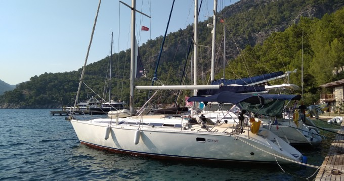 Hire Sailboat with or without skipper Elan Rhodes