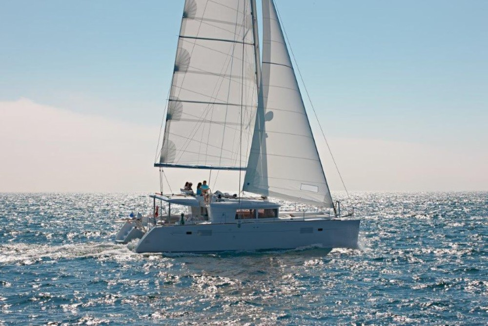 Rental yacht  - Lagoon Lagoon 450 F - 4 + 1 cab. on SamBoat