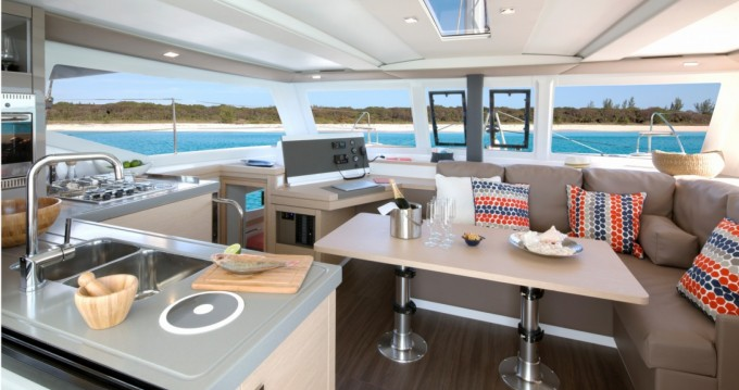 Rent a Fountaine Pajot Lucia 40 Newport