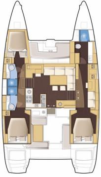 Rental yacht Newport - Lagoon Lagoon 450 on SamBoat