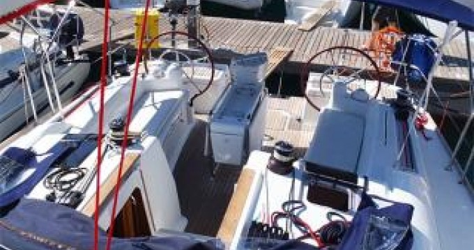 Boat rental Athens cheap Sun Odyssey 439