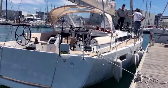 Boat rental Palma de Mallorca cheap Sun Odyssey 440