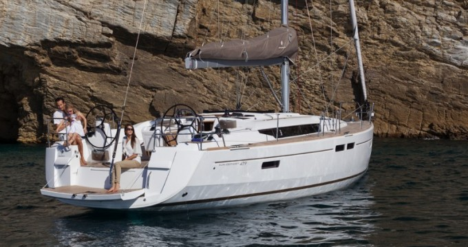 Boat rental Palma de Mallorca cheap Sun Odyssey 479