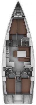 Rental Sailboat in Athens - Bavaria Cruiser 45