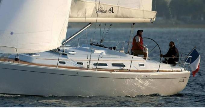 Rental Sailboat in Athens - Hanse Hanse 400