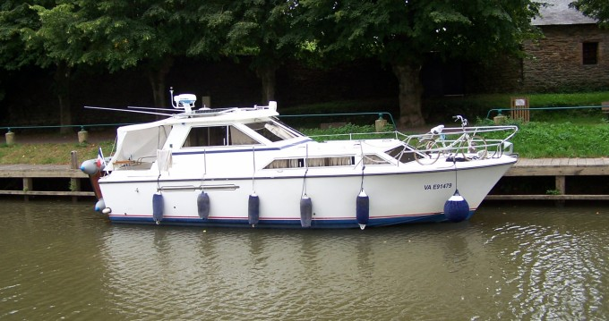 Rental Canal boat Princess with a permit