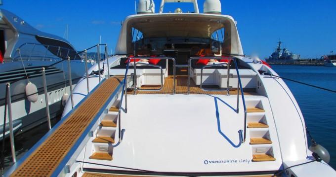 Boat rental Tétouan cheap Mangusta 80 open