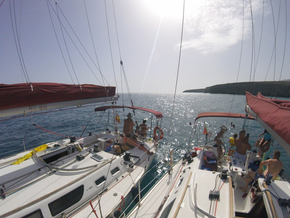 Sailboat for rent Morro Jable at the best price