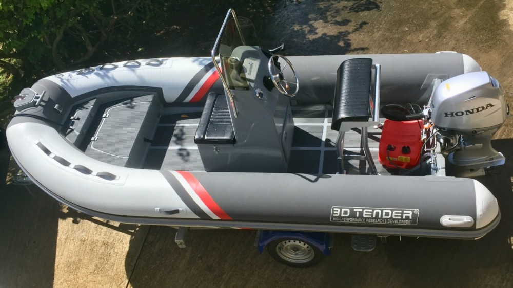 Boat rental 3D Tender Stealth RIB 460 in Fort-de-France on Samboat