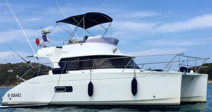 Boat rental Fountaine Pajot Highland 35 in Saint-Florent on Samboat
