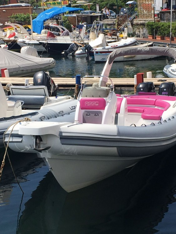 Hire RIB with or without skipper Asso Naples