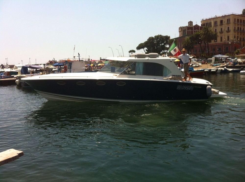 Hire Motor boat with or without skipper Tornado Naples