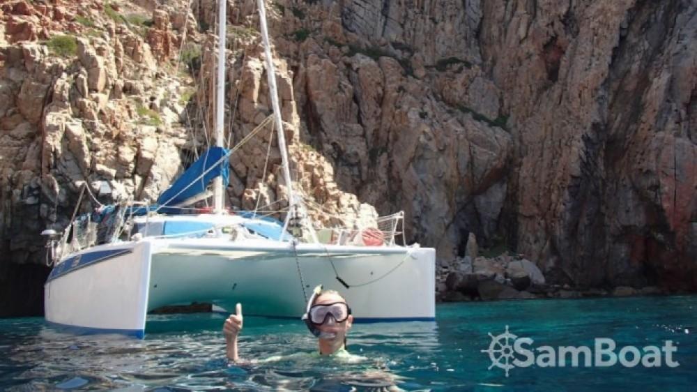 Boat rental Martinique cheap Passion 38 ''