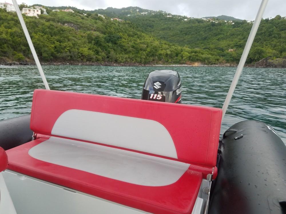 Rental yacht Basse-Terre - Zodiac Medline 580 Color on SamBoat