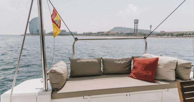 Bali Catamarans Bali 4.1 between personal and professional Barcelona