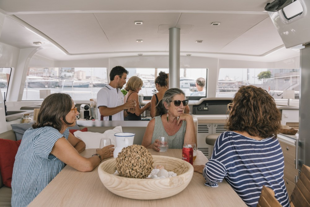 Boat rental Bali Catamarans Bali 4.1 in Barcelona on Samboat