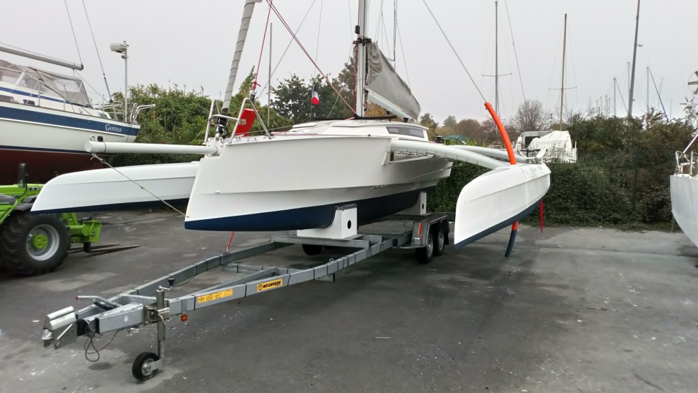 Hire Catamaran with or without skipper Radikal Arzal
