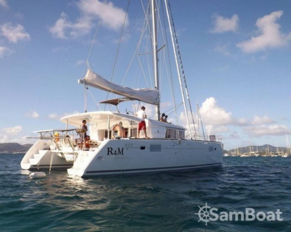 Rental yacht Martinique - Lagoon Lagoon 450 F on SamBoat