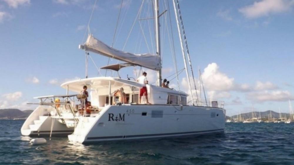 Rent a Lagoon Lagoon 450 F Martinique