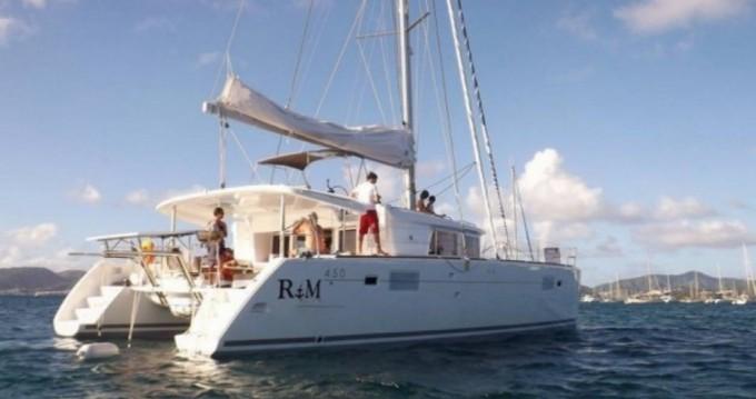 Rental yacht Le Marin - Lagoon Lagoon 450 on SamBoat