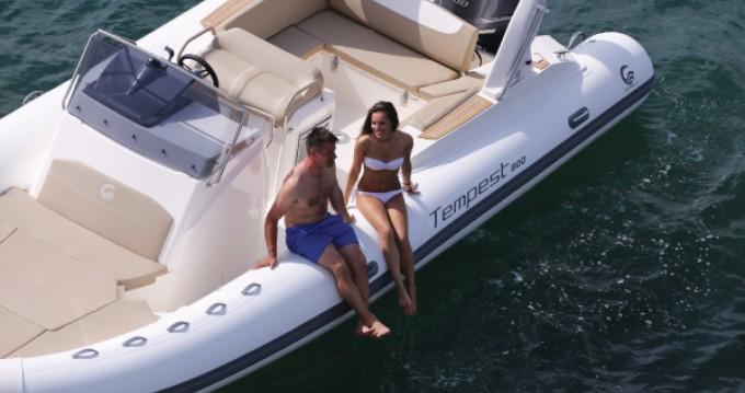 Boat rental Capelli Temepst 800 Open in Palma de Mallorca on Samboat