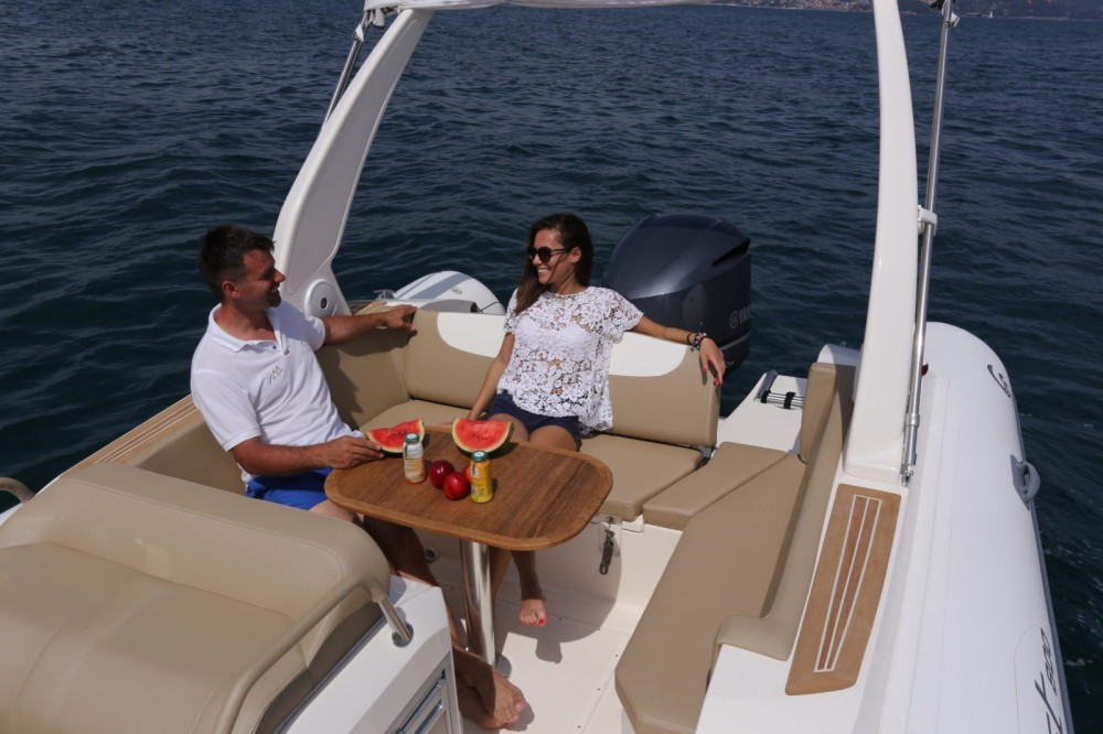 Rental RIB in Palma - Capelli Temepst 800 Open
