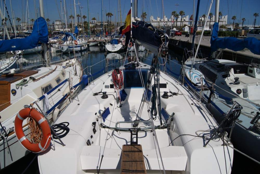Jeanneau One Design 35 between personal and professional Barcelona