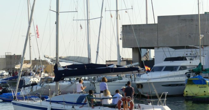 Boat rental Barcelona cheap One Design 35