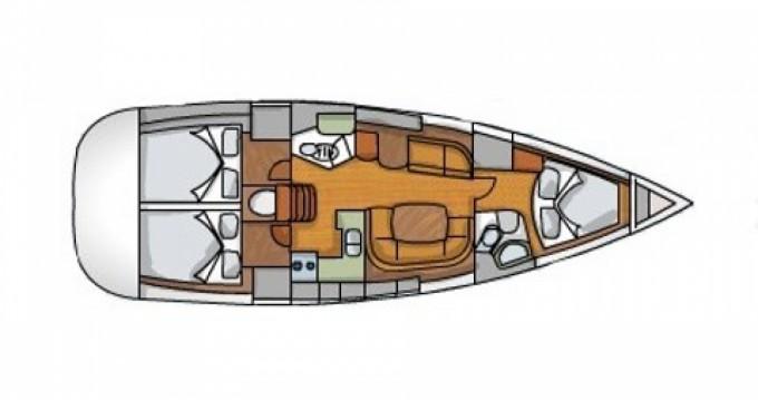 Rental yacht Gouvia - Jeanneau Sun Odyssey 42i on SamBoat