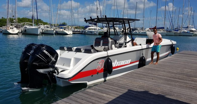 Boat rental Fort-de-France cheap Abaco 38