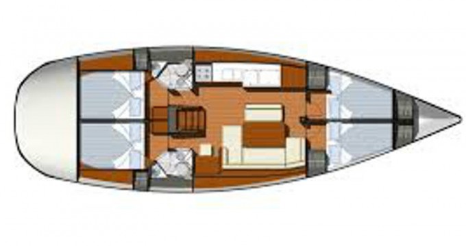 Rental Sailboat in Volos - Jeanneau Sun Odyssey 44i