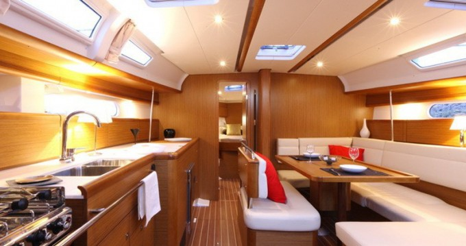 Boat rental Volos cheap Sun Odyssey 44i