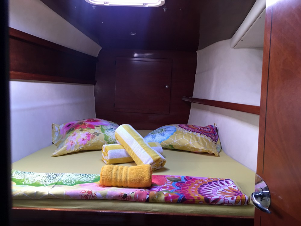 Boat rental Papeete cheap Bahia 46