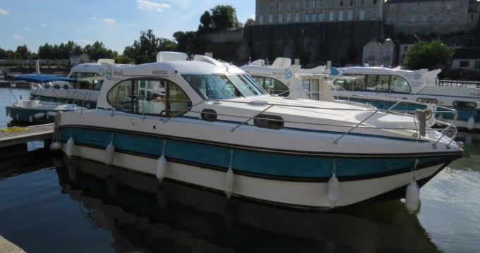 Hire Canal boat with or without skipper Nicols Sablé-sur-Sarthe