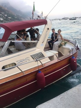 Boat rental Positano cheap Fratelli Aprea 32