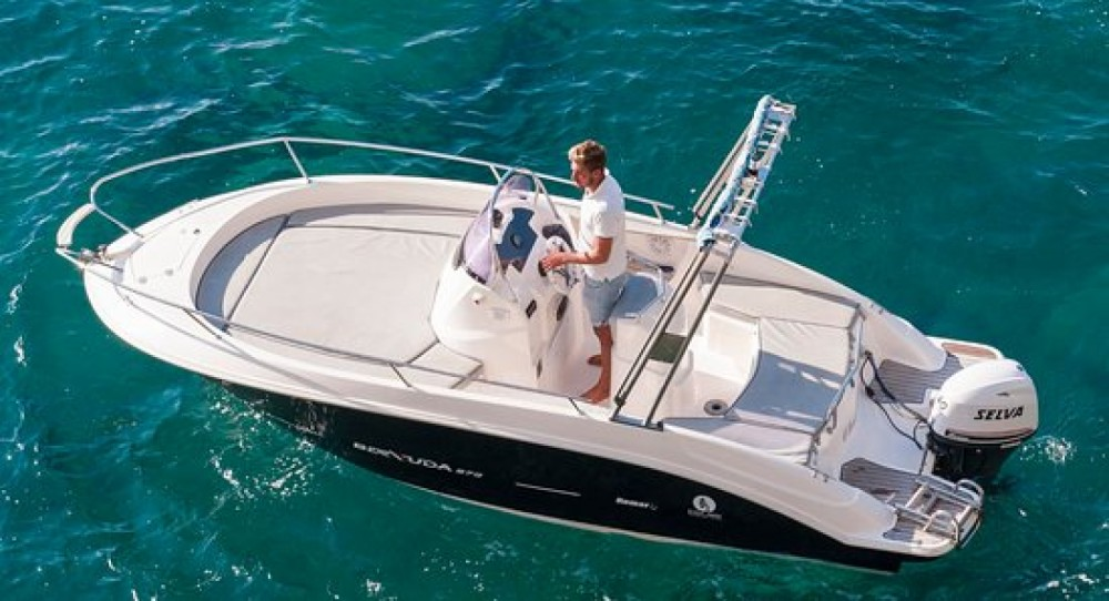 Hire Motor boat with or without skipper Romar Positano
