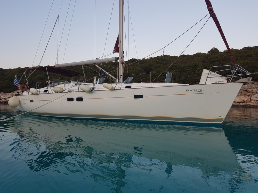 Boat rental Oceanis Clipper 411 in Volos Municipality on Samboat