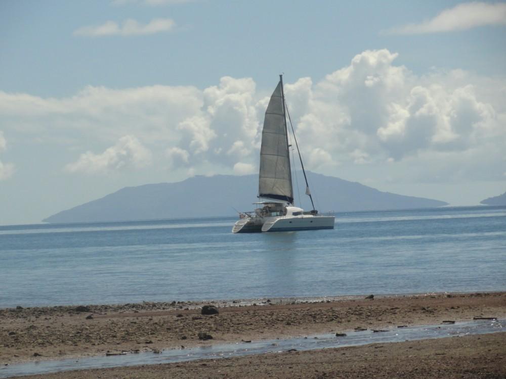 Catamaran for rent Ambatoloaka at the best price