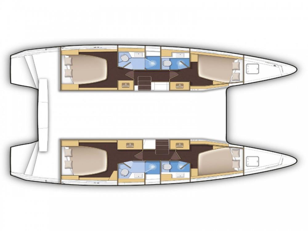 Rental yacht Poltu Quatu - Lagoon Lagoon 42 on SamBoat