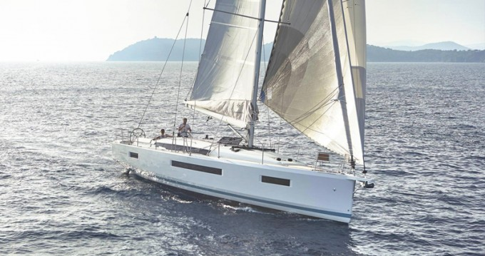 Jeanneau Sun Odyssey 440 between personal and professional Lávrio