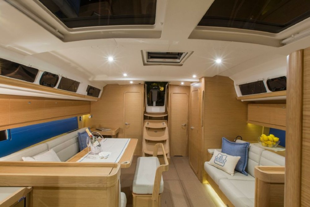 Boat rental Athens cheap Dufour 460